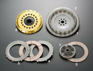 Os Giken R2cd Twin Plate Clutch For Toyota Ma70 7mgte