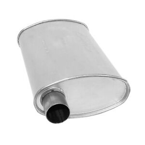 Ap Exhaust 6497 Xlerator Big Max Turbo O Oo 18 Muffler With 2 Inlet Outlet