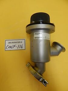 Mks Instruments 161 0040k Inline Manual Valve Used Working