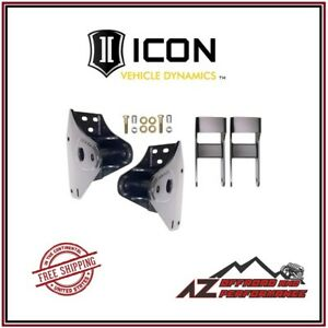 Icon Front 3 Hanger And Shackle Kit For 1999 2004 Ford Super Duty F250 F350