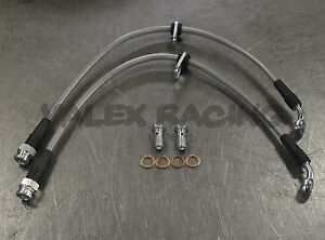Stainless Steel Rear Brake Line Replacement Kit For 94 01 Acura Integra Dc2