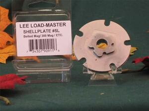 90911 Lee Load Master LM Shell Plate #5L