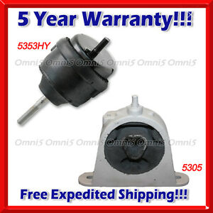 L841 Fits 2007 2008 Chrysler Pacifica 3 8l 4 0l Motor Trans Mount Set 2pcs