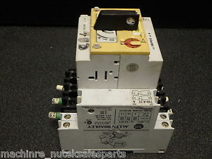 Allen Bradley Series A Motor Starter Switch 190 mn With 190 p010 Series A