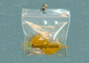 Ziplock Reclosable Hang Hole 3 X 4 2 Mil Small Clear Plastic Bags 36000 Pieces