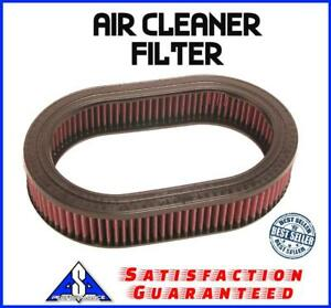 12 x4 Oval Washable Air Cleaner Filter Breather Reusable Oiled Fits Ford Chevy