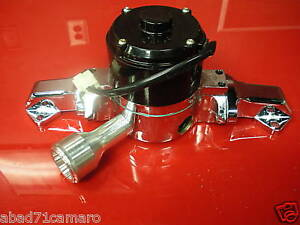 New Small Block Ford Electric Water Pump 5 0 302 351w High Volume Flow Polished