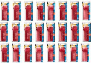New 120 Paper Mate Eraser Mate Red Ink Eraseble Pen Medium Point 1 00 Mm 24 Pack