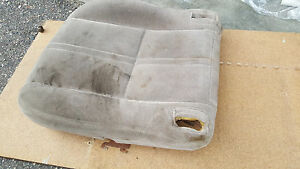 1997 2001 Toyota Camry Front Driver Seat Cushion Bottom Brown Fb40 Japan