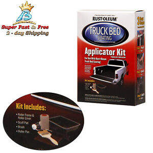 Black Truck Bed Liner Trailer Coating Spray Protection Automotive Paint 6 Pack
