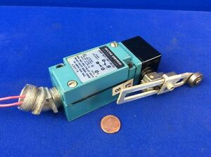 Micro Switch Lsh1a Heavy Duty Limit Switch W Roller Lever Arm