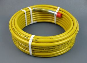Wagner Procoat 0523044 Or 523044 Airless Spray Hose 1 4 X 35 Yellow Or Maroon
