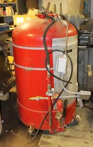 E l Nickell Ansul Fire System Tank Large Fire System Tank