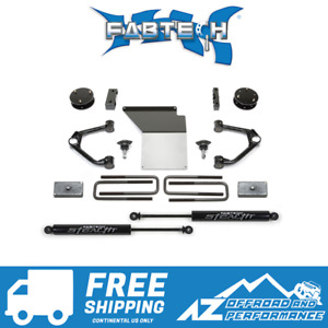 Fabtech 4 Budget System Ball Joint Stealth 07 18 Silverado Sierra 1500 K1059m