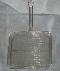 12 x14 5 x5 5 Stainless Steel Fry Basket No Pvc 5003456