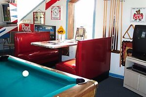 New Zodiac Retro Restaurant Diner Booth Set Booths