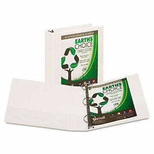 12x Samsill Earths Choice Biobased View Binder 3 Ring Binder 2 Inch Round Ring