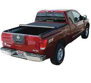 Truxedo 209101 Truxport Soft Roll Up Tonneau Cover For Nissan Titan W 8 Bed