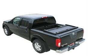 Truxedo 709001 Deuce Soft Roll Up Hinged Tonneau Cover For Nissan Titan W 8 Bed