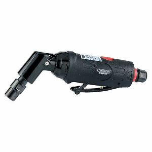 Draper Expert 6mm Compact Soft Grip Air Angle Die Grinder 115 Degrees Head 47564