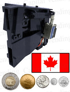 New Canadian Tuned Genesis Combo Vending Blue Coin Acceptor Go 127 137 380