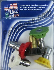 Mtm Hydro 17 0171 Pressure Washer 4 0 Spray Tips 5 Pack
