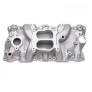 Edelbrock 2104 Performer Intake Manifold For 87 95 Cylinder Heads Chevy Sb