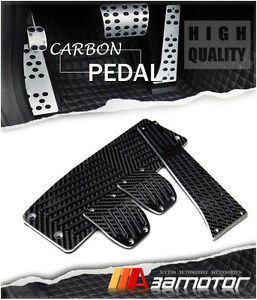 Carbon Fiber Mt Pedal Set Footrest 4pcs For Bmw E46 E90 E91 E92 E87 E81 Manual