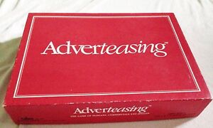 Adverteasing - Complete - Vintage Board Game of Slogans Commercials And Jingles $4.30