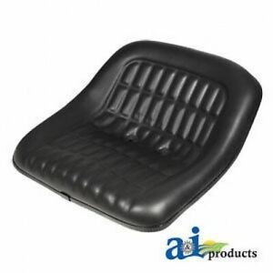 Ford New Holland Seat 19 Steel Pan Black Vinyl 2000 3000 4000 5000 6600 7000