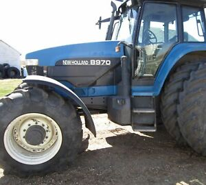 Made To Fit Ford New Holland Mfwd Fenders Lh rh