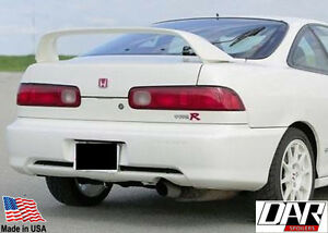 Acura Integra Type R Post Mount Rear Spoiler Wing 97 01 Dar Fg 293 Painted