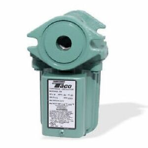 Taco 009 hbf5 j Bronze Cartridge Pump For Clear Flame Outdoor Wood Boiler