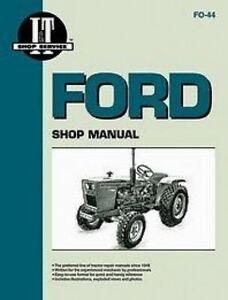 Made To Fit Ford I t Shop Service Manual 1100 1110 1200 1710 1910