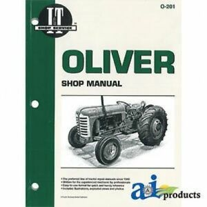 Made To Fit Oliver I t Shop Manual 66 77 88 660 770 880 950 990