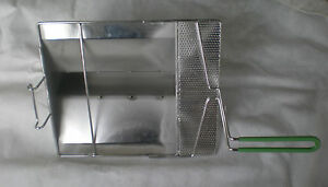 Sediment Tray For Frymaster Gas Stainless Sheet With Drain Holes 5004240