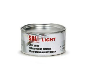 Soll Light Polyester Light Putty Sg6 100 Filling Putty Full Box 6 Units