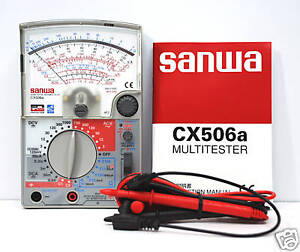 1pc Sanwa Linear Analog Multitester Cx506a Cx 506a Multimeters Japan