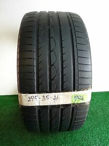 yokohama Advan Sport N 1 295 35 21 107y Used Tire 64 6 4 32nds 994