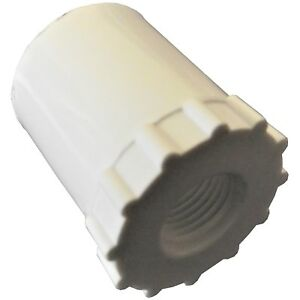 10 1 2 Pvc Adaptors For Automatic Waterer Drinker Cup nipple Chicken Poultry