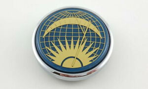 Vw Flat 4 Banjo Steering Wheel Porsche 356 Vdm Accessory Sun Moon Horn Button