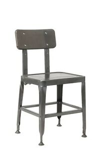 Lot Of 20 Metal Restaurant Chair In Clear Coating Finish