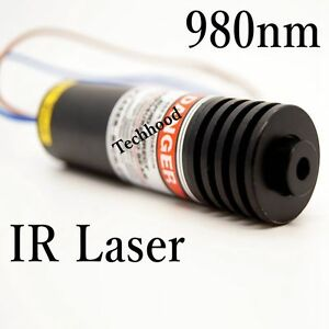 980nm 500mw Focusable Near Ir Dot Laser Module 1 Pcs
