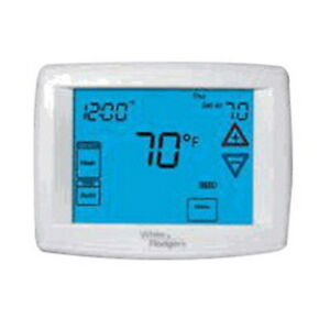 White Rodgers 1f95 1277 Emerson Big Blue 12 Touchscreen Programmable Thermostat