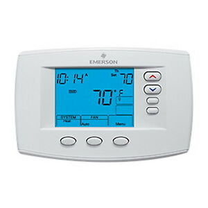 White Rodgers 1f95 0671 Emerson Blue 6 Programmable Universal Thermostat