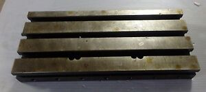 14 5 X 6 25 X 1 75 Steel Weld T slotted Table Cast Iron Layout Plate Weld