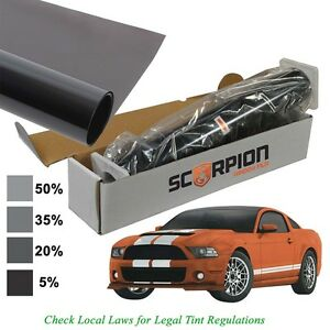 Scorpion Es5b20 Window Tint Entro Series 1 Ply 5 20 X 100 Roll