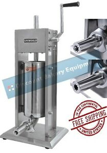 Churro Making Machine Deluxe Stainless Steel 5lb Capacity Ucm dl3