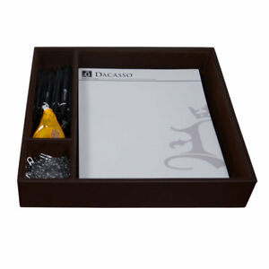 Dacasso Classic Conference Room Supplies Organizer