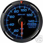 Defi Blue Racer Gauge 52mm Oil Fuel Pressure Df06601